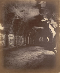 Interior of second east prakara, Ramalingeshvara Temple, Rameswaram